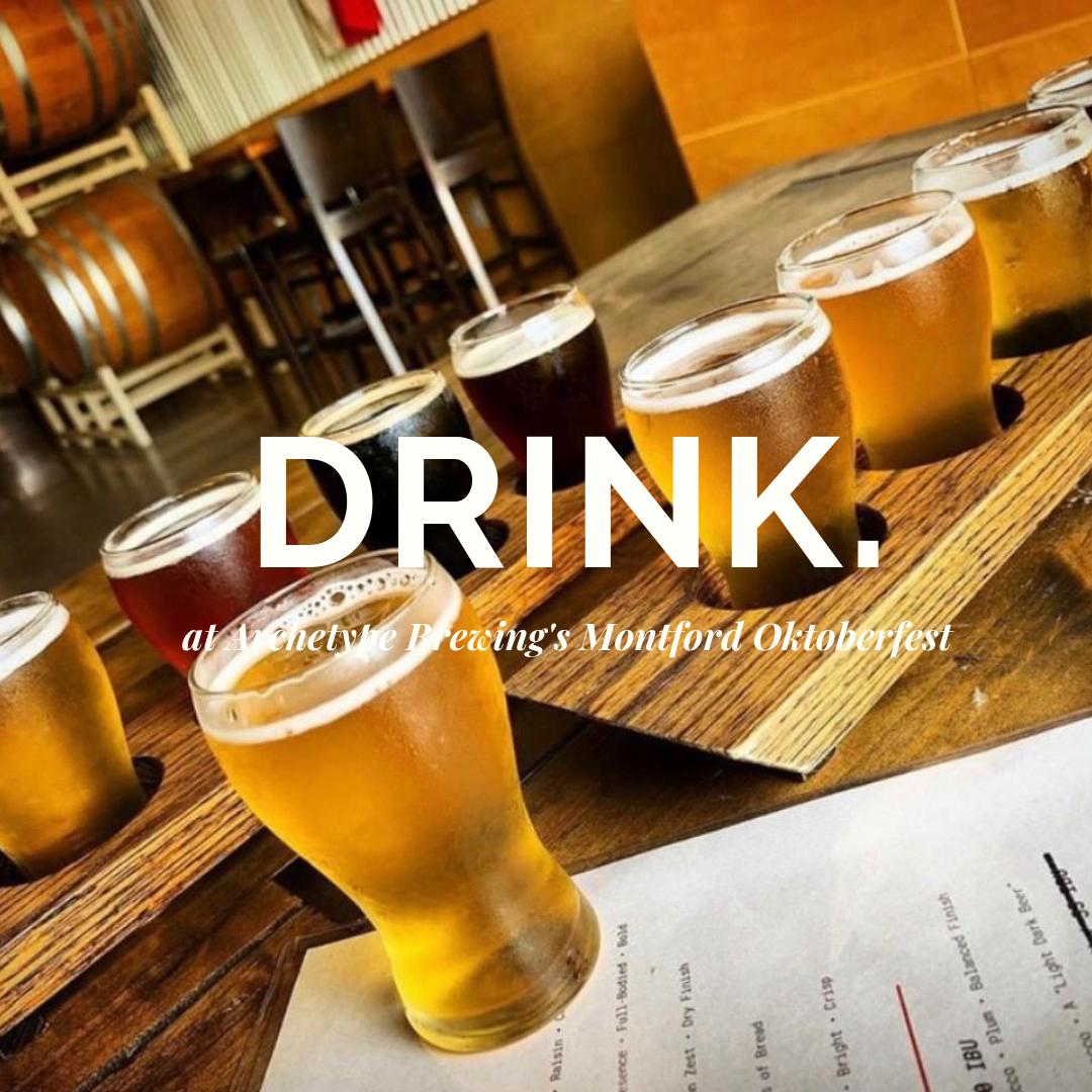 Oktober Beer Festival in Montford Asheville