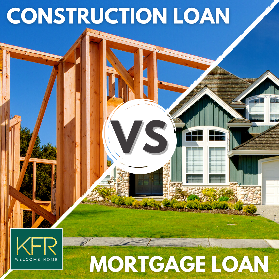 Construction Loan vs Traditional Mortgage