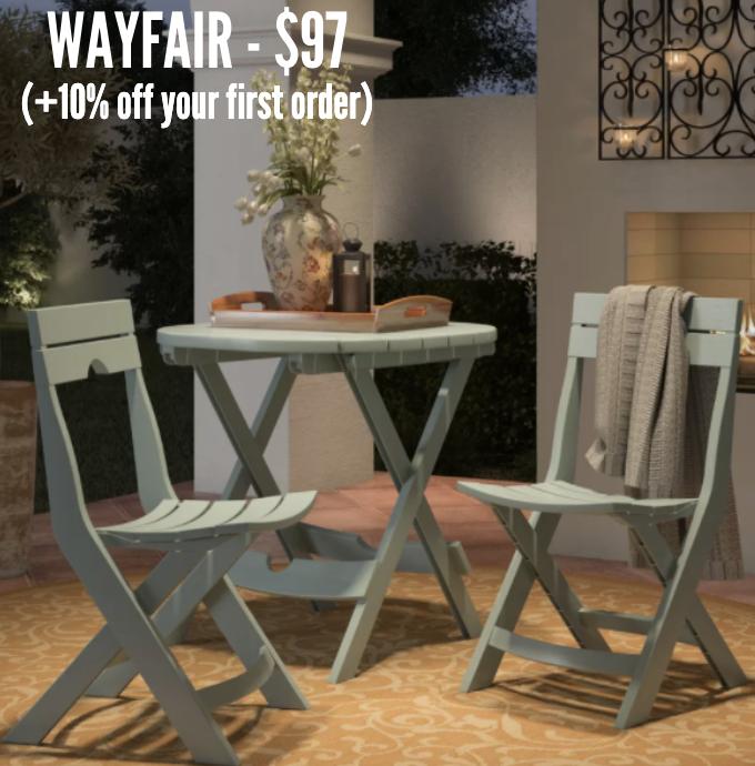 Wayfair Bistro Set