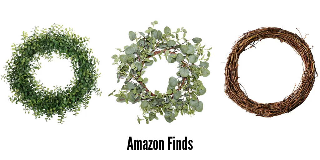 Decorative amazon wreaths to upgrade home's curb appeal