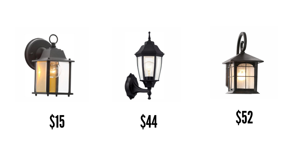 Decorative outdoor lighting options to increase home's curb appeal