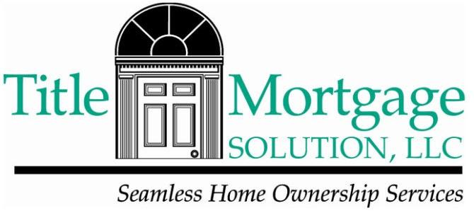 Title Mortgage Solution LLC Logo