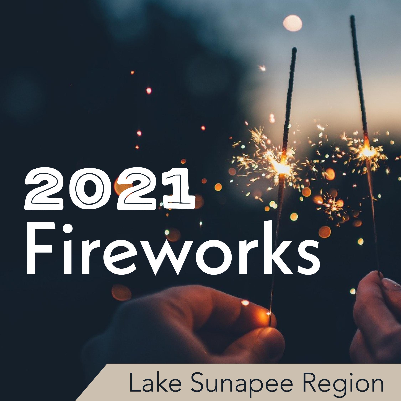 2021 Fireworks - Lake Sunapee Region