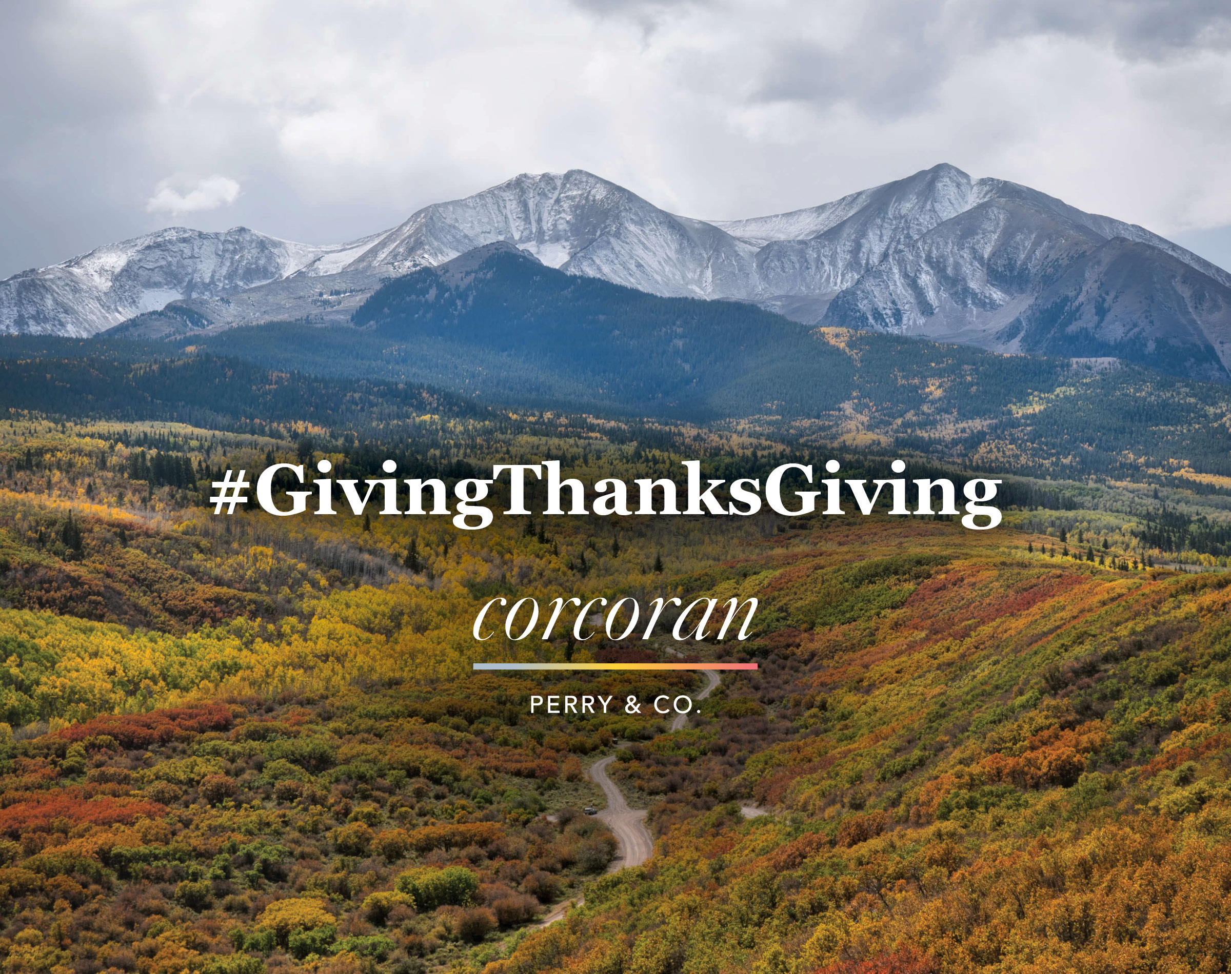 Corcoran Perry & Co: Giving Thanksgiving