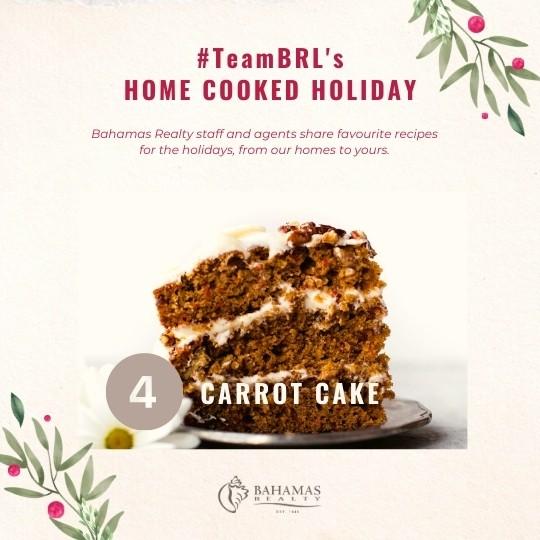 Carrot Cake | Bahamas Realty