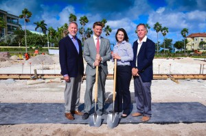 Ground Breaking at Caves Corporate Center