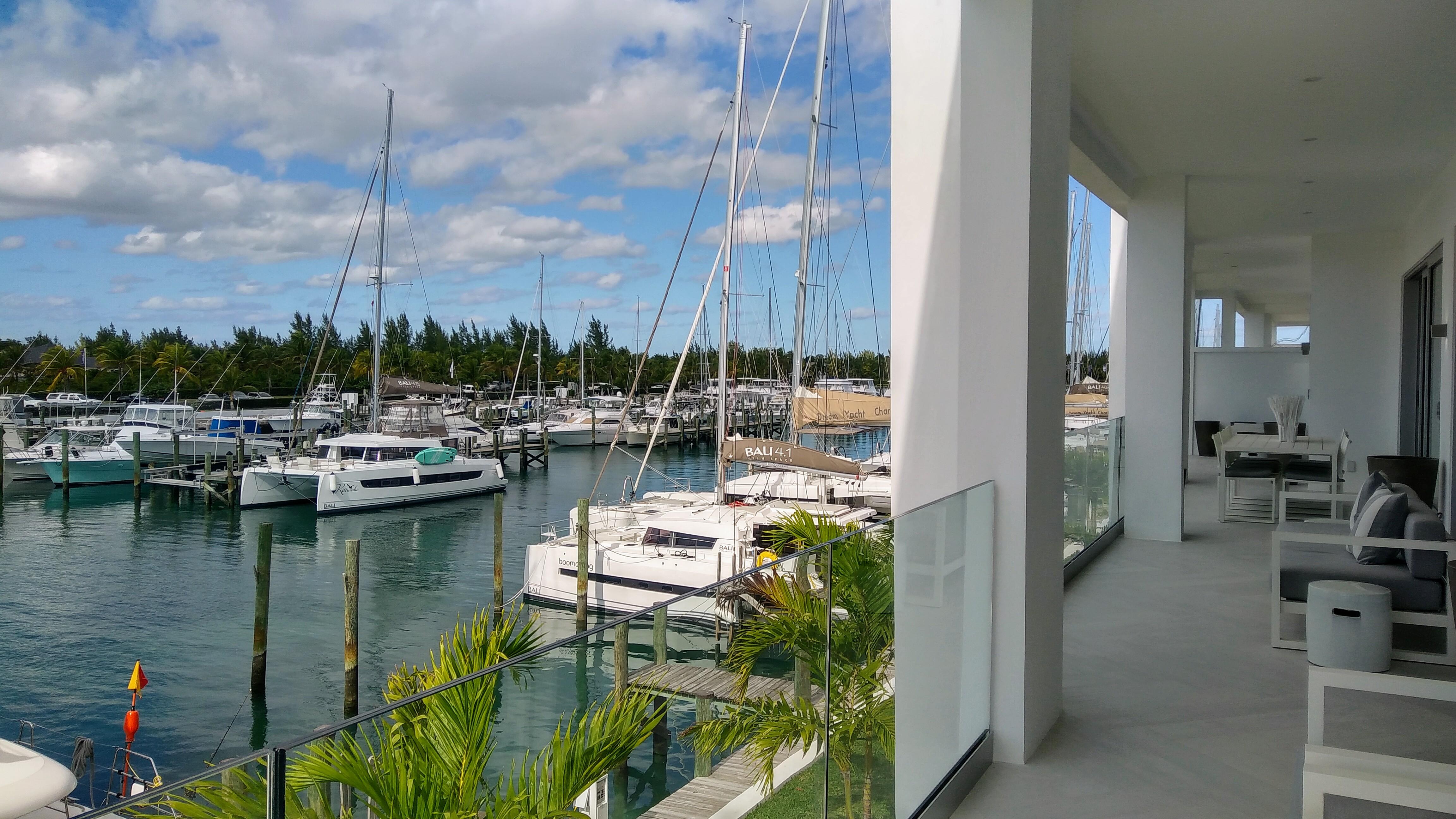 Marina & Ocean Views
