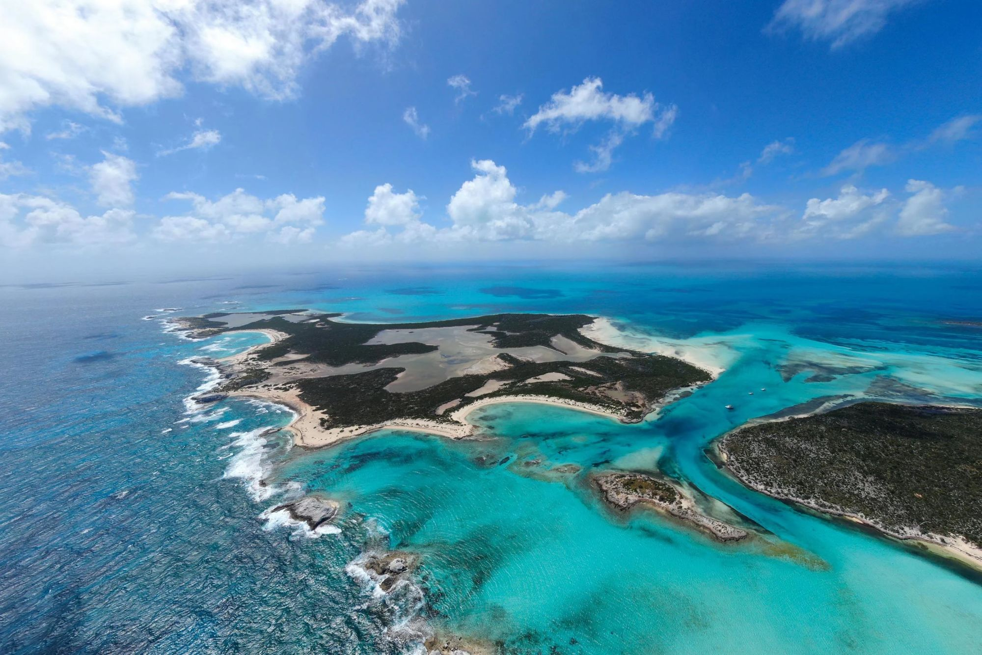 St Andrew's Island aerial - Little Ragged Island is up for Auction
