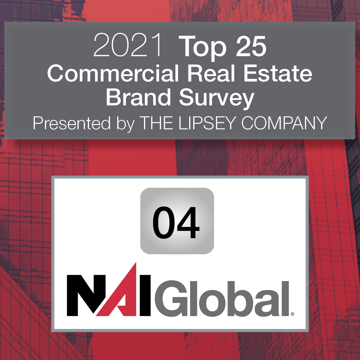 2021 Top 25 Commercial Real Estate Brand Survey