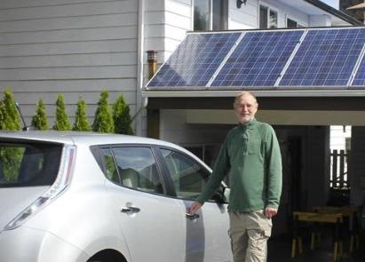 Mackenzie Rae Team   Home Solar Panel Charging Station
