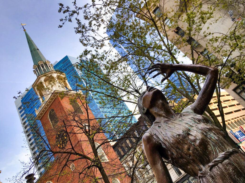 Boston's Famine Memorial