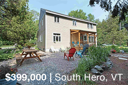 South Hero Home with Lake Access for sale