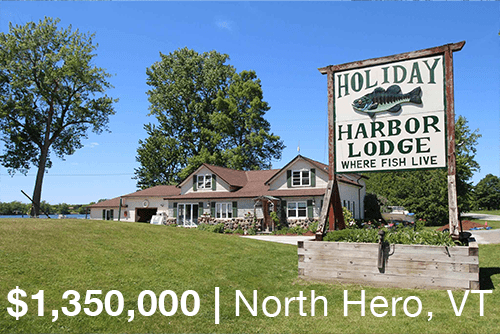 Holiday Harbor Lodge For Sale in Vermont