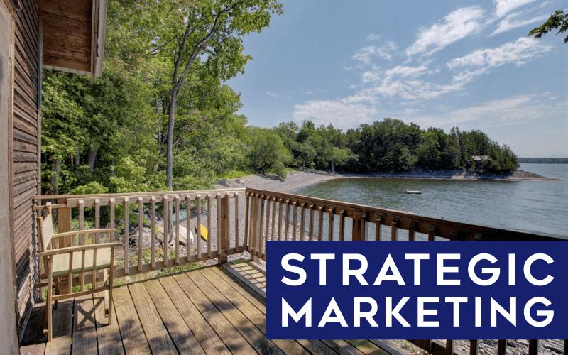 Strategic Marketing North Hero Vermont Lakefront Cottage