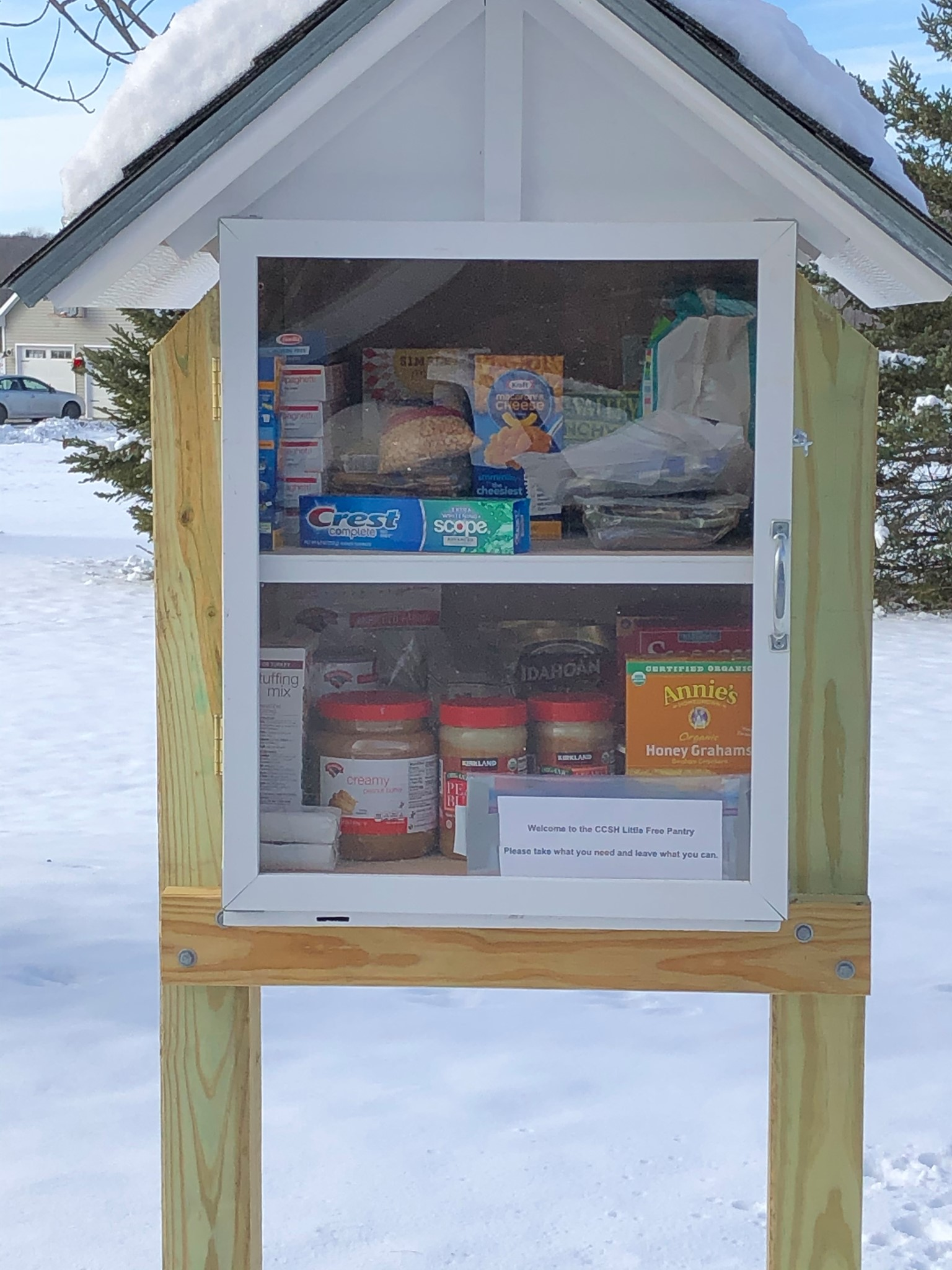 Little free pantry in Vermont