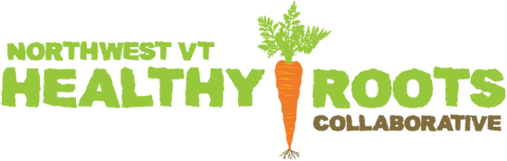 northwest VT healthy roots collaborative logo