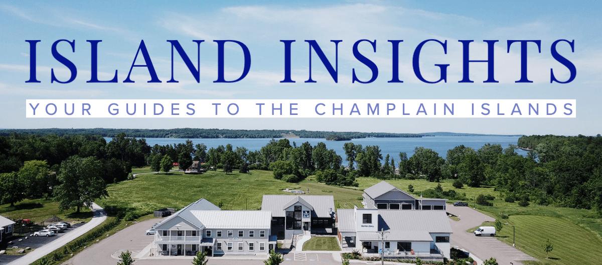 'Island Insights Newsletter' Drone photo of 38 Community Lane