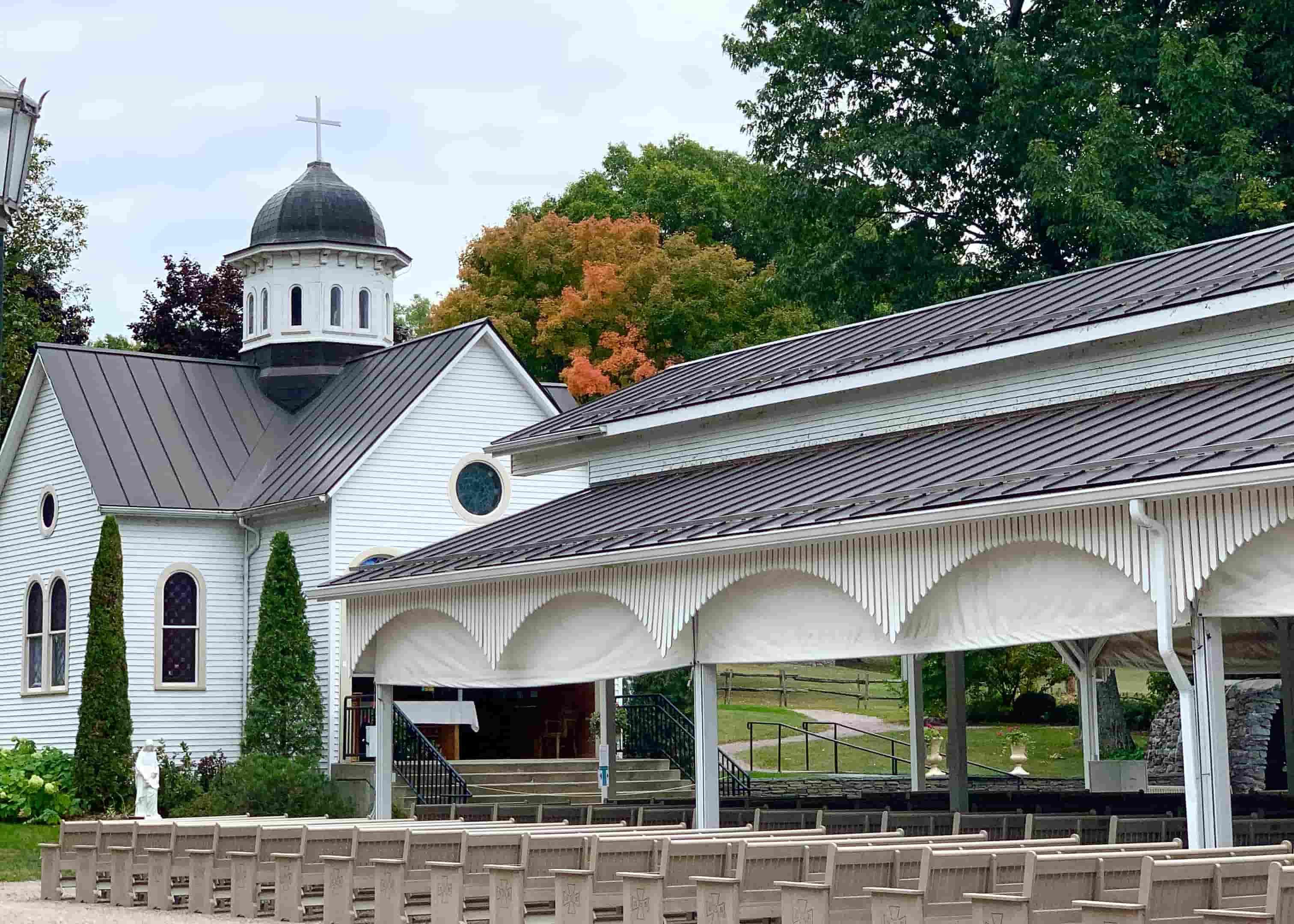 Saint Anne's Shrine in Isle La Motte, Vermont