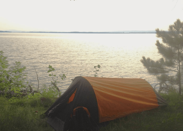 Tent Camping at Woods Island State Park