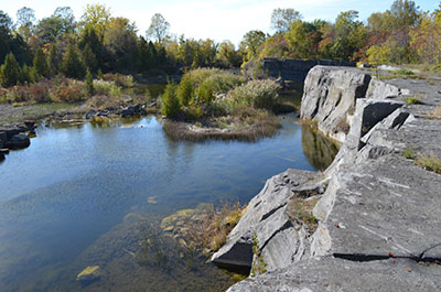 Fisk Quarry in Isle La Motte, Vermont