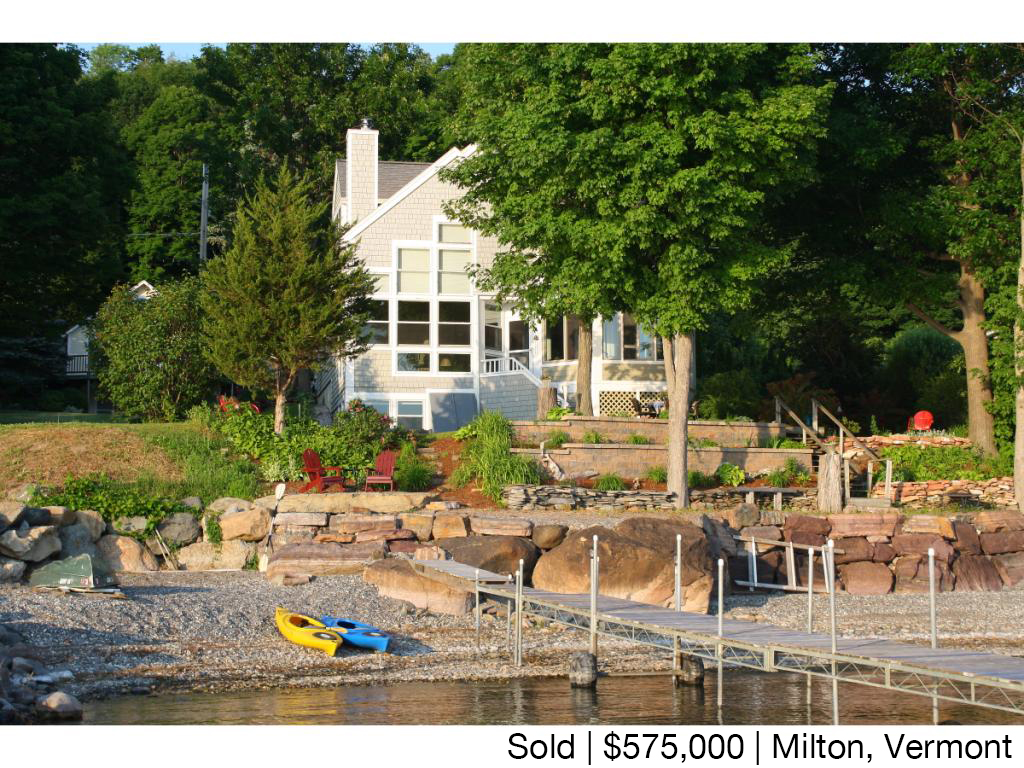 SOLD, Maquam Shore, Milton, Vermont