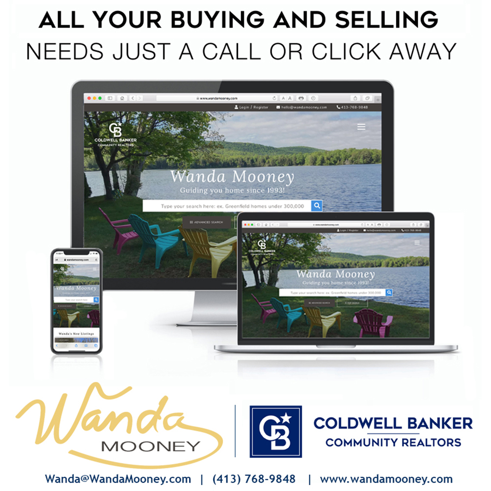 Western mass real estate Wanda Mooney