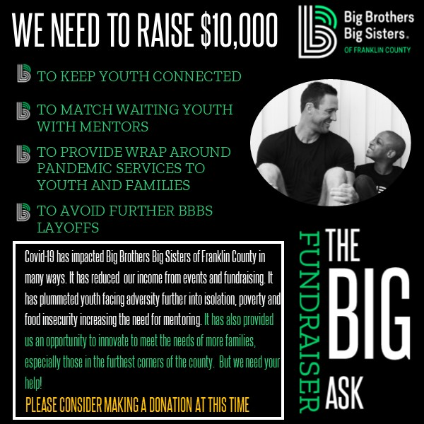 Big Brothers Big Sisters Franklin County Fundraiser