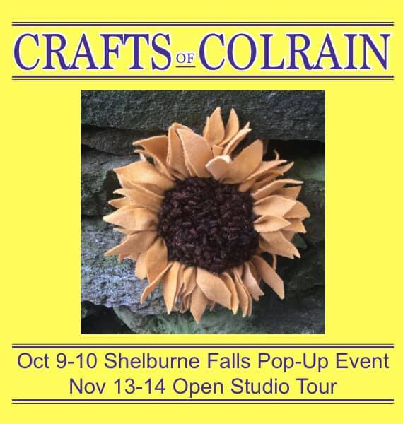 crafts of colrain pop-up event