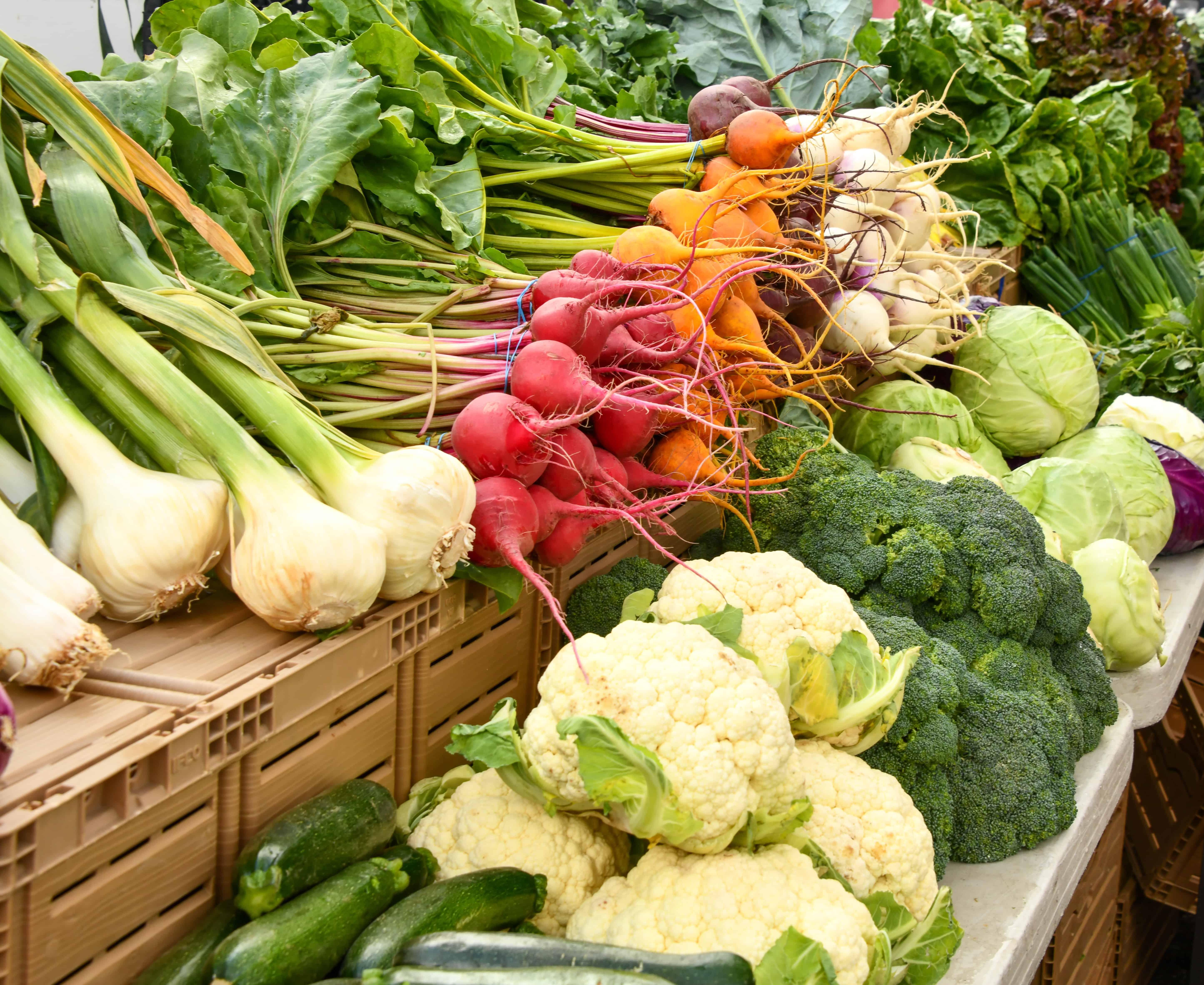 farm to table produce local