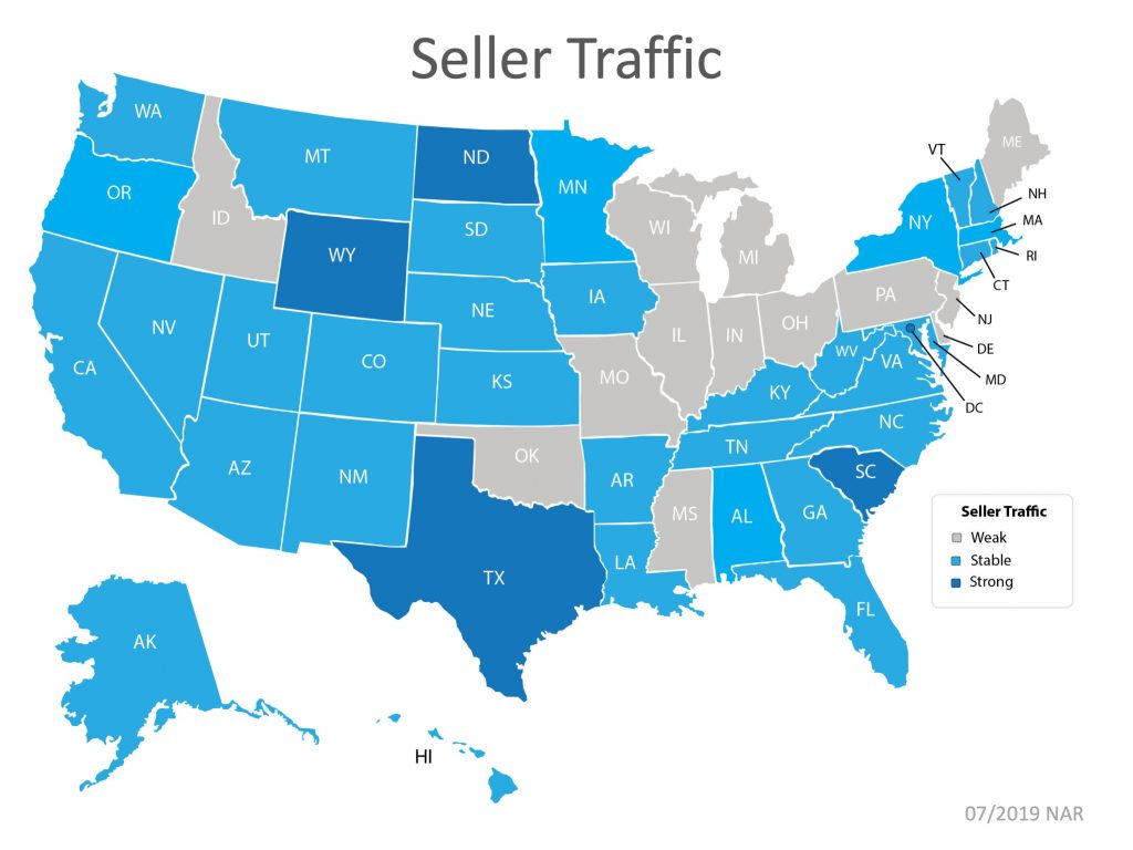 Seller Traffic by State Graphic