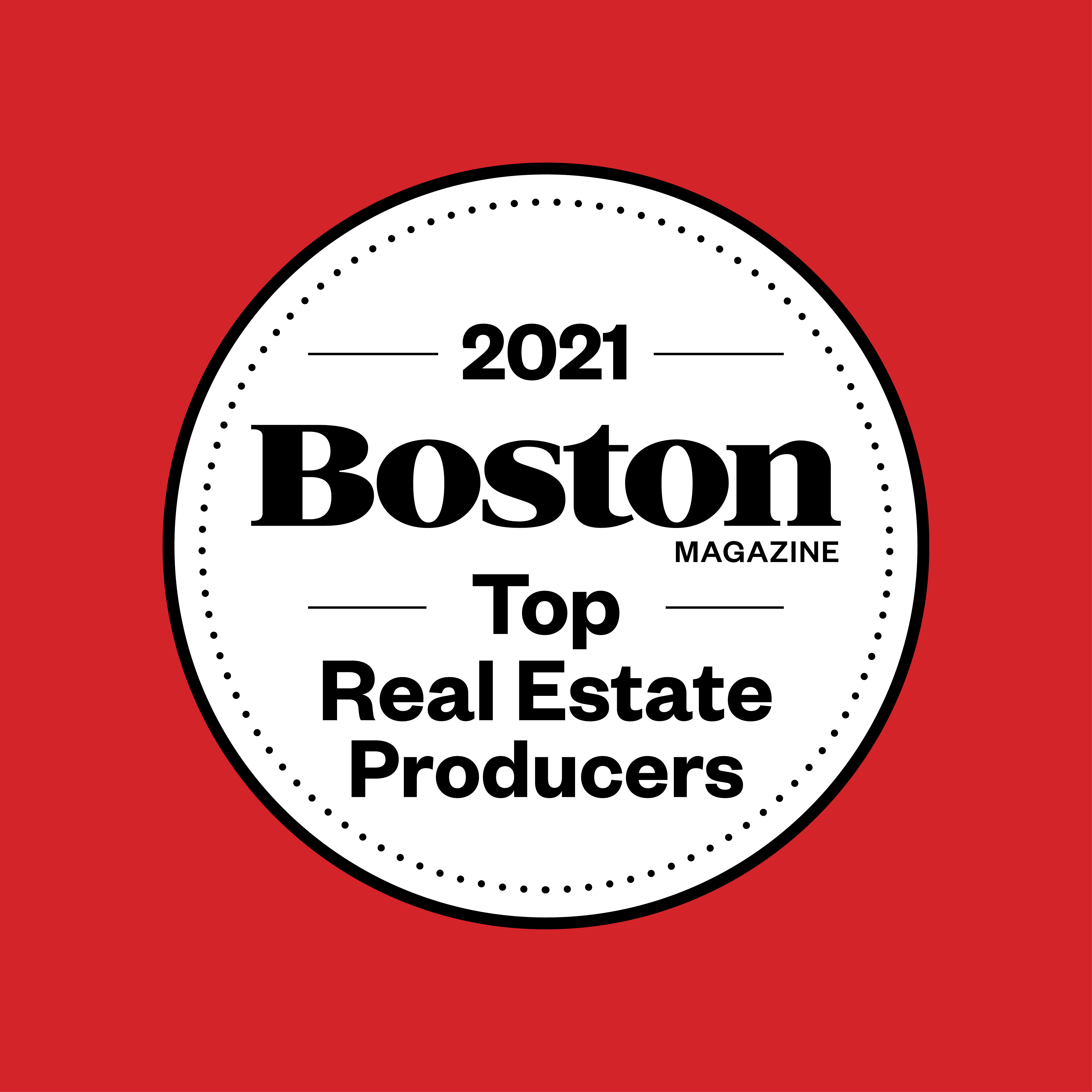 2021 Top Real Estate Producers
