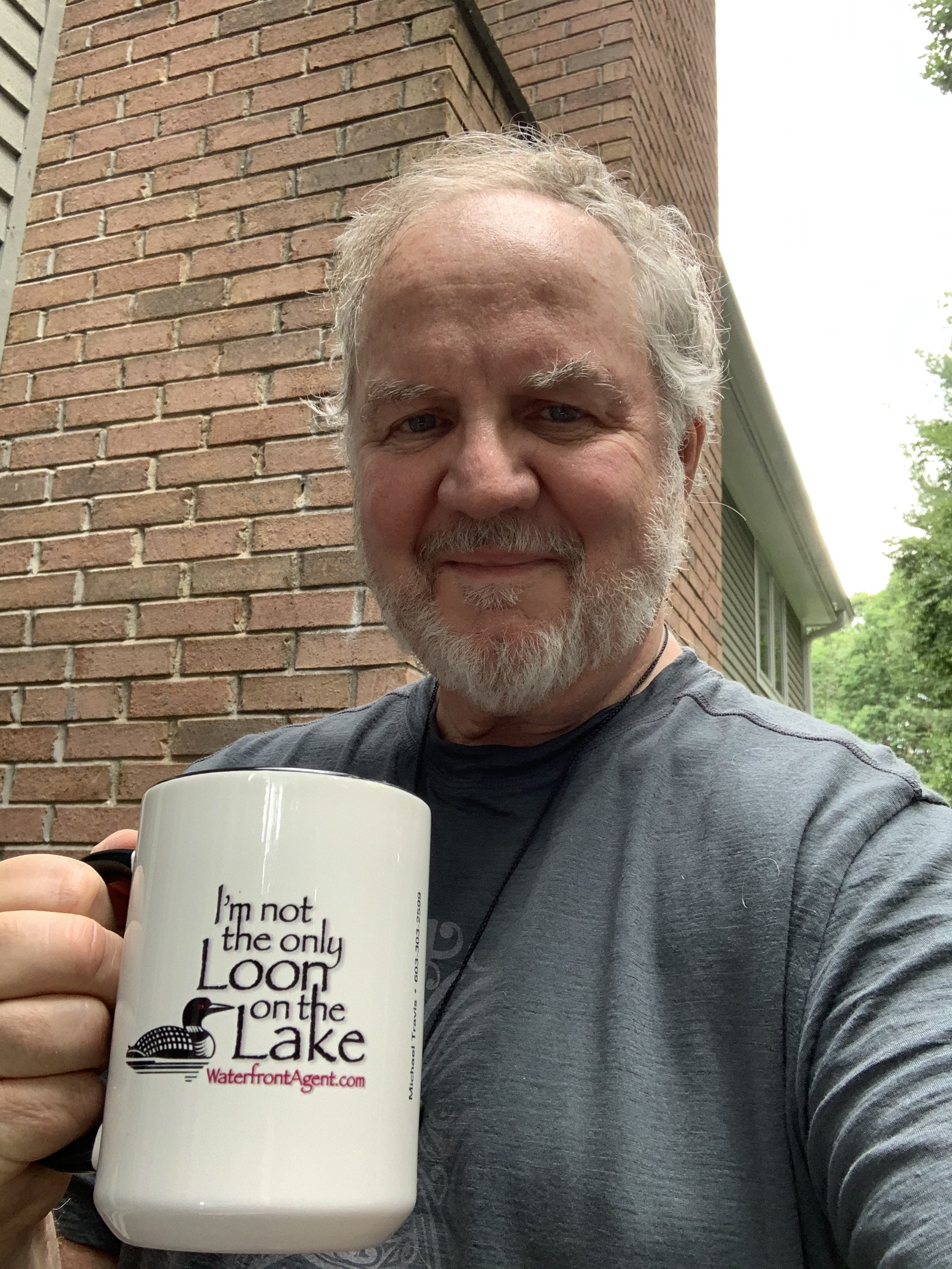 Mug on Lake WInnipesaukee