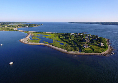 Tiverton Rhode Island Aerial View
