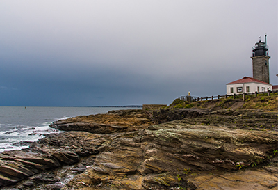 Beavertail Lighthouse in Jamestown, RI