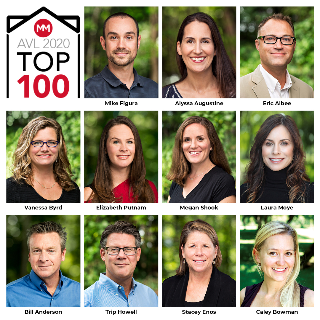 Asheville Top 100 Real Estate Agents Mosaic