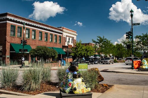 Brevard NC Walkable Town