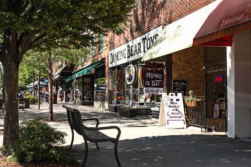 Hendersonville NC Walkable Town