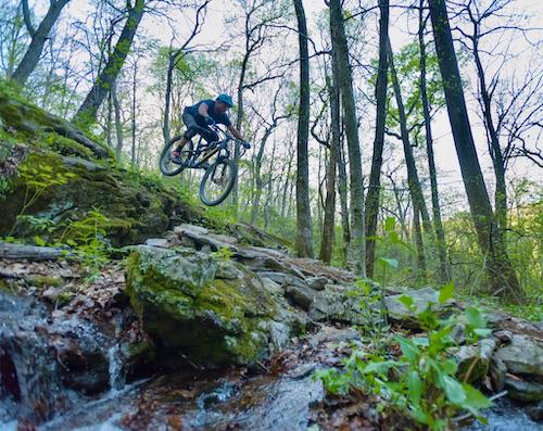 Justin Mitchell Mountain Biking Asheville Realtor