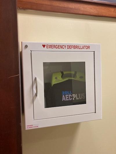 Megan Shook AED Donations Asheville