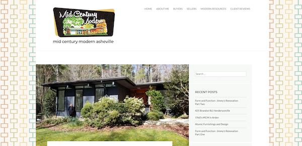 Midcentury Modern Asheville Real Estate