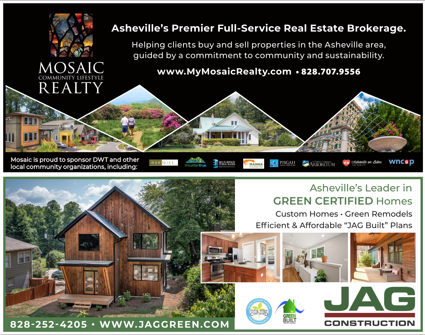 Mosaic Realty Gives Asheville