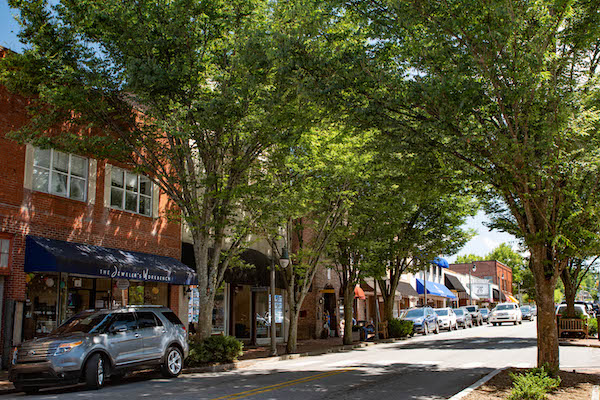 Waynesville NC Walkable Town