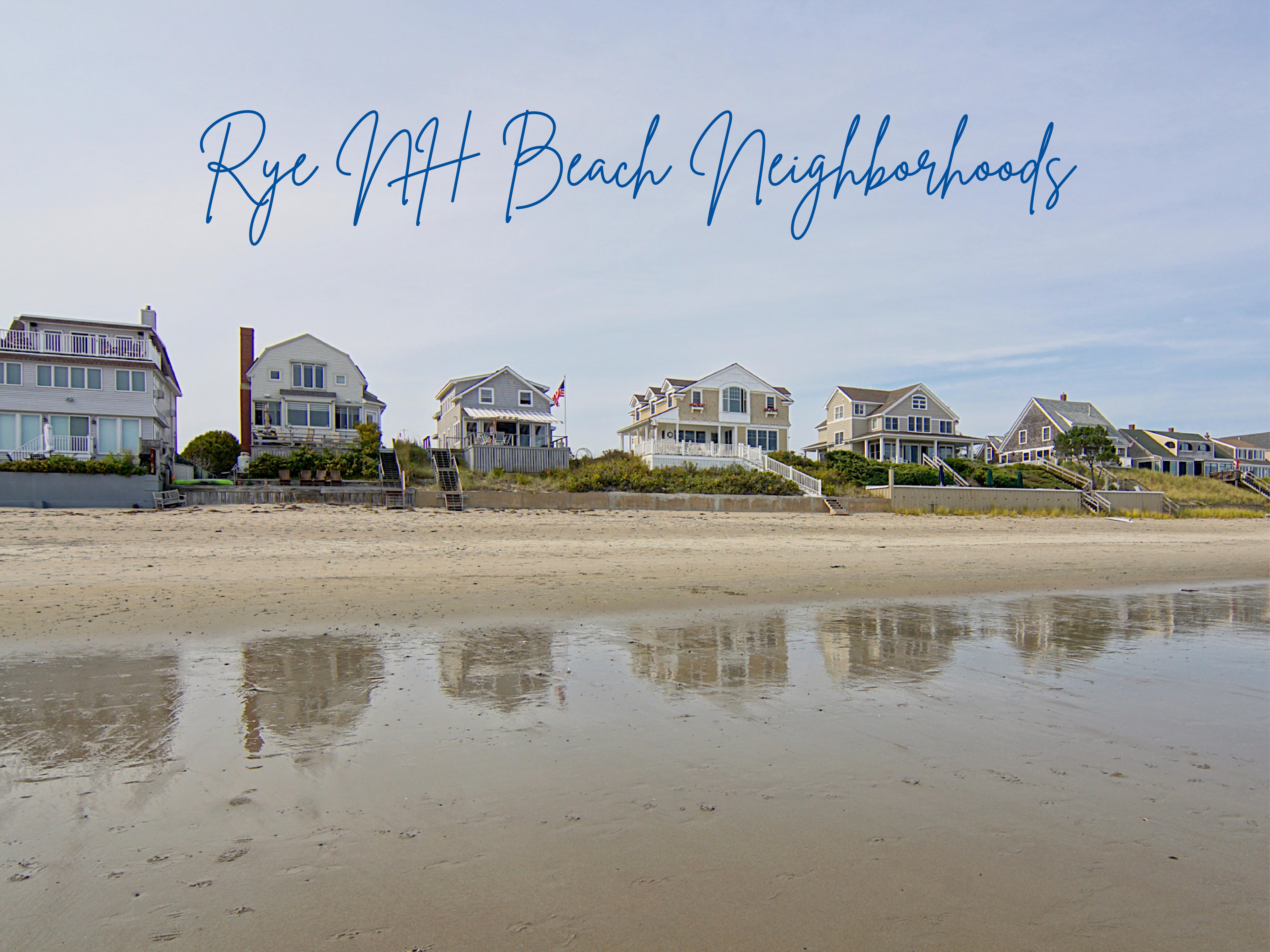 Rye NH Beach Neighborhoods