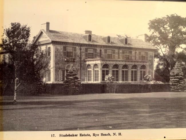 Studebaker Estate, Rye Beach
