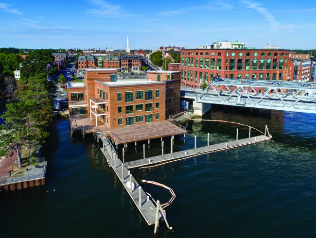 Pier II at Ten State Street Portsmouth NH