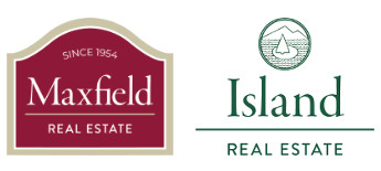 Island Real Estate and Maxfield logos