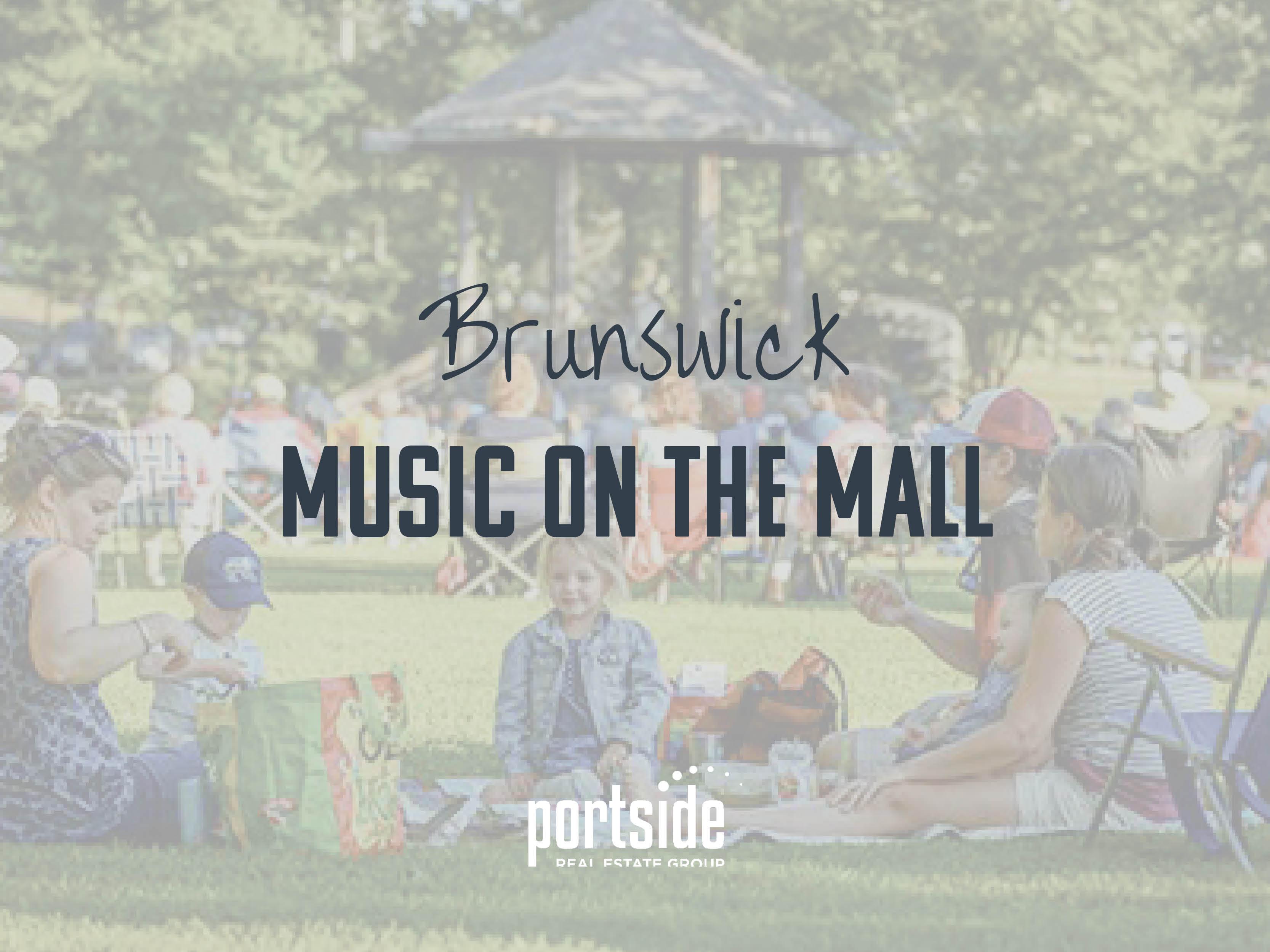 Brunswick music on the mall