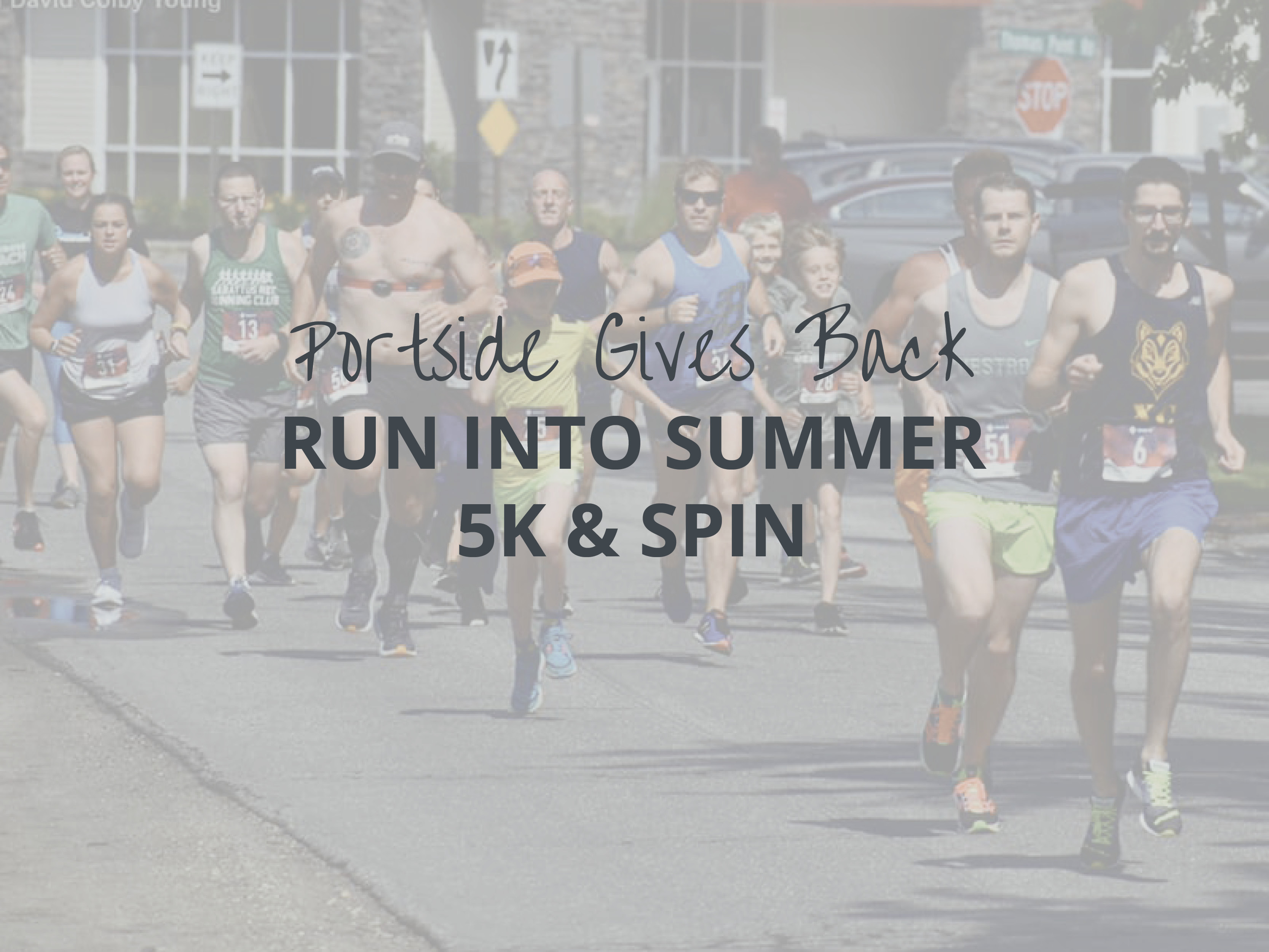 Portside gives back run into summer 5k event
