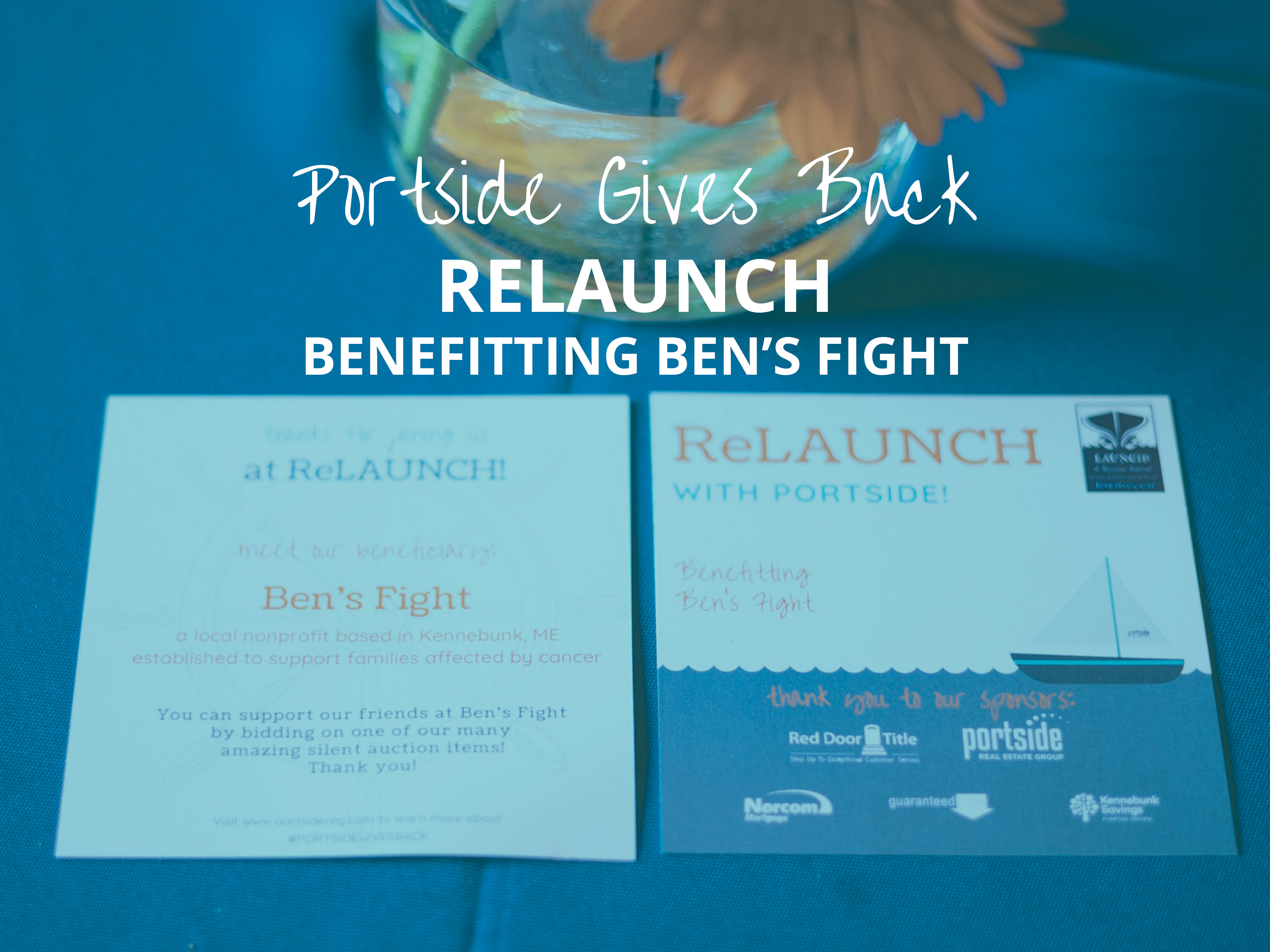 Portside Gives Back ReLAUNCH, benefitting Ben's Fight