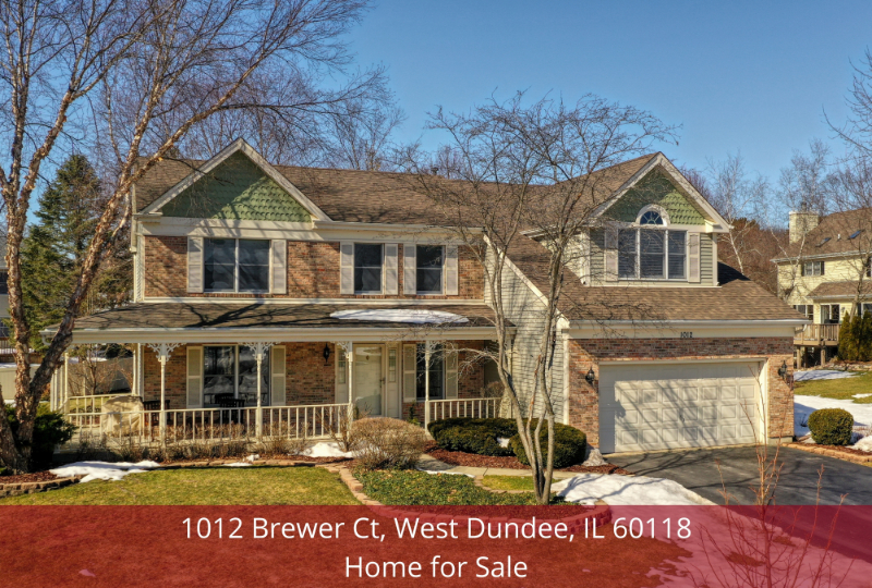 West Dundee IL home for sale- Own your dream property in this West Dundee IL home for sale.